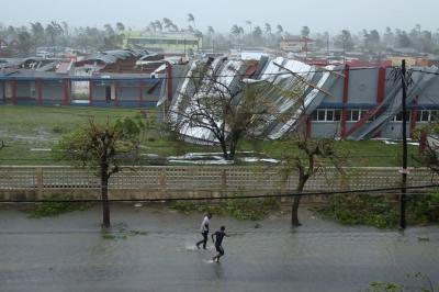 Um milhão de crianças atingidas por ciclone