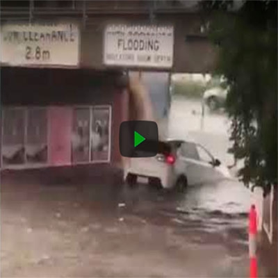 Quando a pessoa acha que tem um barco em vez de um carro