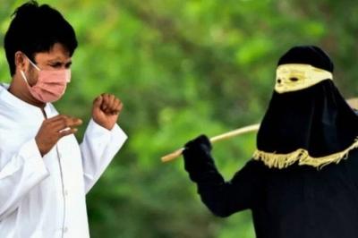 Casal recebe 100 chibatadas por fazer sexo antes do casamento