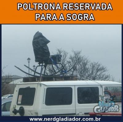 Poltrona pra Sogra