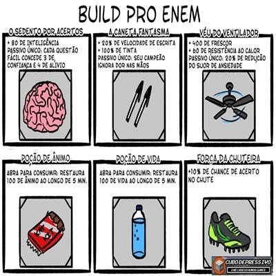 Build para o enem