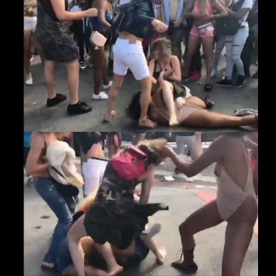 Parada gay de São Francisco teve momento de MMA