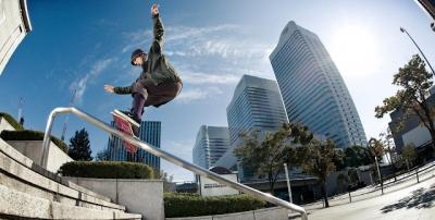 No Japão nem andar de skate é normal