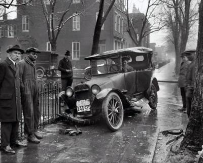 Antigos acidentes com carros