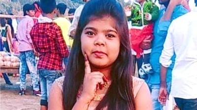 A garota indiana morta por