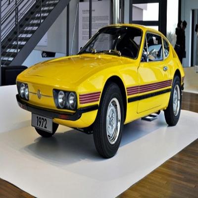 Volkswagen SP2 -  com um perfil agressivo, interior refinado com bancos em couro