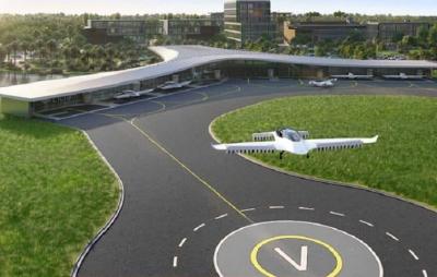 EUA terão primeiro hub de táxis voadores