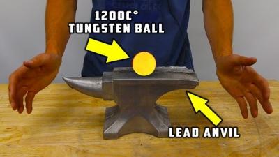 Tungstênio a 1200 °C Vs Metal sólido, quem ganha?