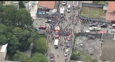 Dupla ataca escola em Suzano, mata oito pessoas e se suicida