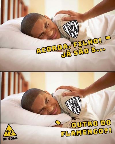Flamengo goleia o del Valle e leva torcedores à loucura