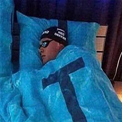 Dormindo em clima de Olimpíadas