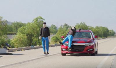 Sistema de detecção de pedestres não funciona 60% das vezes, assista o vídeo