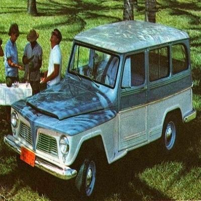 Rural Willys - Além dos EUA e Brasil, foi produzida na Argentina, India e Japão