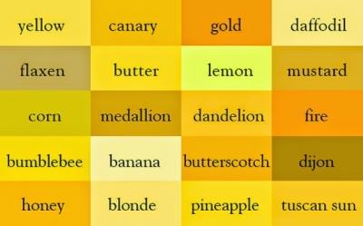 Você sabe o nome de todas as cores?