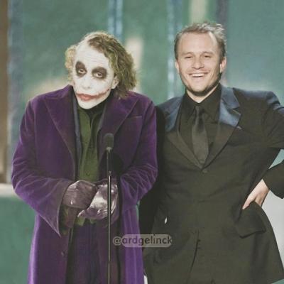 Artista coloca atores lado a lado com seus maiores papéis