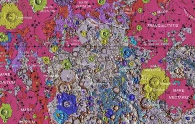 Cientistas anunciam o mais completo mapa geológico da Lua