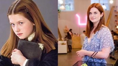 Antes e depois do elenco de Harry Potter