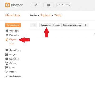 Dicas para Blogger - Centralizar o nome, Criar um site bilíngue, Criar Tags e