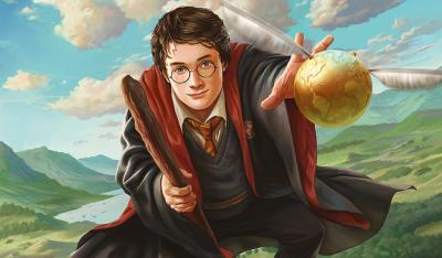 Personagem do mês: Harry Potter