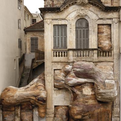 Henrique Oliveira, Uma erupção de textura