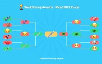 Seringa 💉 é eleita o emoji mais representativo de 2021