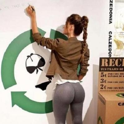 Uma palestra sobre reciclagem nunca foi tãoo interessante.
