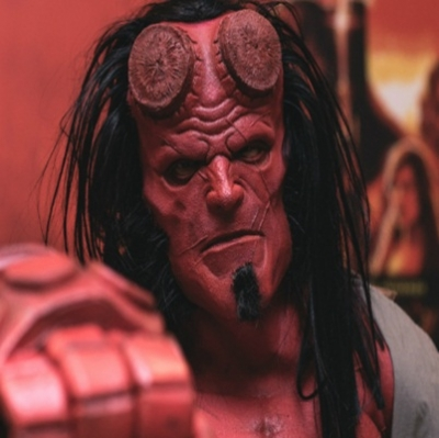 Hellboy pré estreia tira o fôlego