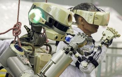 Astronauta-robô está pronto para ir ao espaço