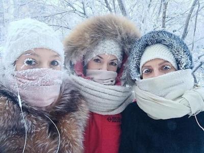 Essa vila congelou com -62°C, veja as fotos