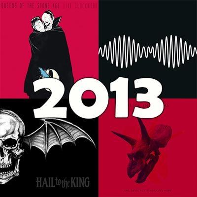 O melhor do rock em 2013