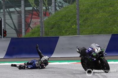 Corredor perde os freios e tem de pular de sua moto a 200 km/h