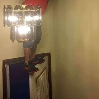 Mais fácil do que pegar uma escada