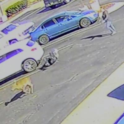 Homem é atacado por cervo em estacionamento do McDonald´s