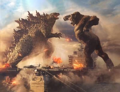 Veja a primeira imagem de Godzilla vs. Kong