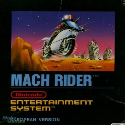 Resenha do jogo MACH RIDER (NES)