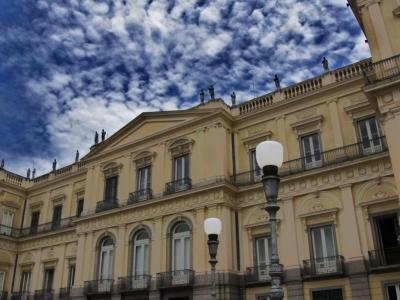 Traficante construiu palácio do Museu Nacional