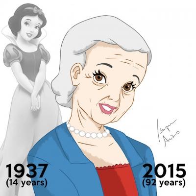 Artista recria as princesas da Disney com a idade que elas deveriam ter