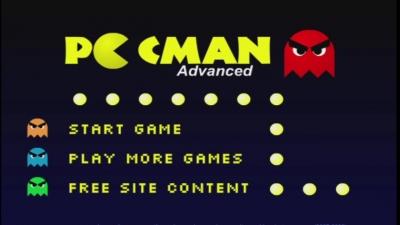 Jogos em Flash #03 'Pac man Advanced'