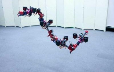 Robô voador é capaz de mudar sua estrutura enquanto está no ar