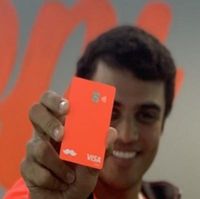 Rappi e Visa lançam cartão pré pago