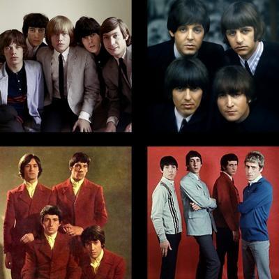 20 grandes bandas da Ivasão britânica (1964-1966)