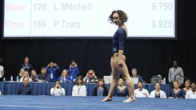 Atleta ganha um 10 perfeito na ginástica solo