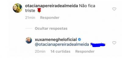 Xuxa representando a mulher brasileira