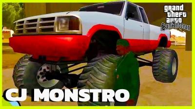 GTA San Andreas #50 Monstro