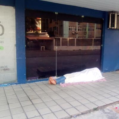 Miséria nas ruas