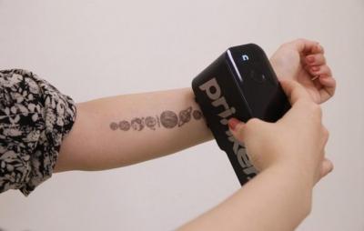 CES 2020: Máquina 'imprime' tatuagens na pele em poucos segundos