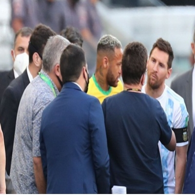Partida entre Brasil e Argentina é interrompida