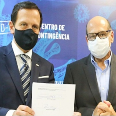 Acordo entre Doria e China para vacina anti-covid-19 para brasil
