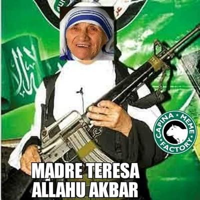 Madre Teresa Allahu Akbar