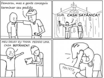 A casa satânica